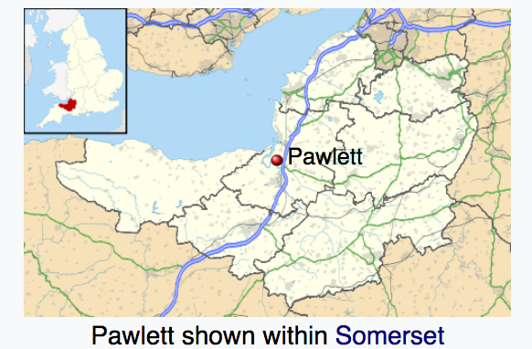 Pawlett in Somerset